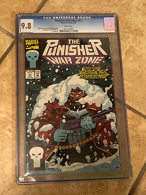 THE PUNISHER WAR ZONE #11 cgc 9.8 1993 Series