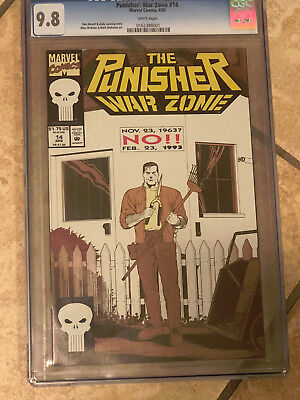 THE PUNISHER WAR ZONE #14 cgc 9.8 1993 Series