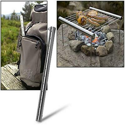 New Stainless Steel Portable Camping Picnic Outdoor BBQ Grill CZ