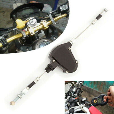 Universal CNC Black Stunt Clutch Easy Pull Cable System For Motorcycle Dirt Bike