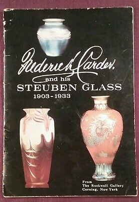 1966 Booklet FREDERICK CARDER and His STEUBEN Glass 1903-1933 with Price Guide