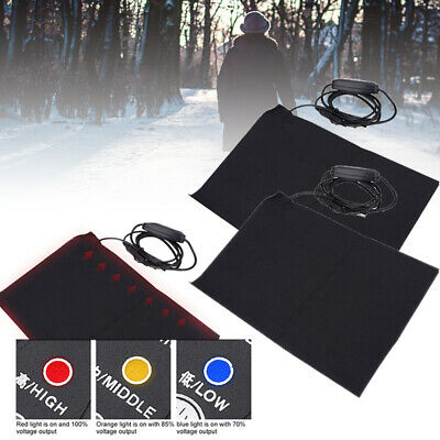 Electric Heating Pad USB Cloth Thermal Vest Jacket Outdoor Mobile Warming Gear