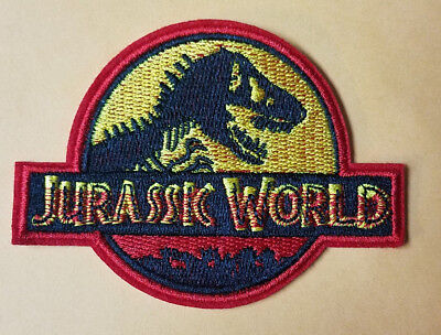 Jurassic World Logo Costume Patch 4 inches wide
