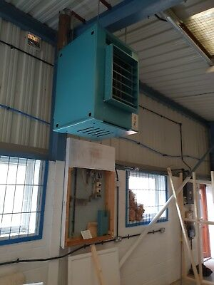Benson Gas Heater For Industrial Unit suitable for 1000sq ft unit.