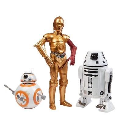 Hasbro Star Wars The Force Awakens Droid Pack C-3PO BB-8 and RO-4LO Collector ED