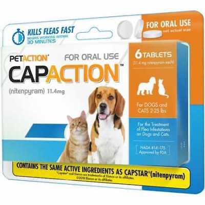 CapAction for Dogs 11.4mg 225 lbs  6 Tablets