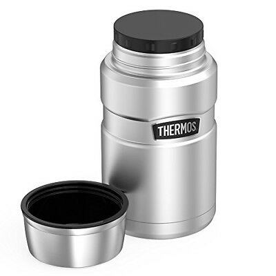 Thermos Stainless King 24 Ounce Food Jar Stainless Steel Warm Food Soup Store