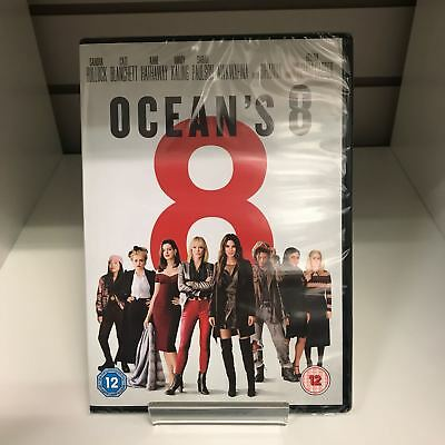 Ocean's 8 (2018) DVD - New and Sealed Fast and Free Delivery