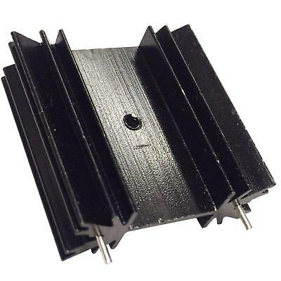 Transistor Heat Sink TO-220 TO-126 TO-247 Black Aluminium 35x12x34mm