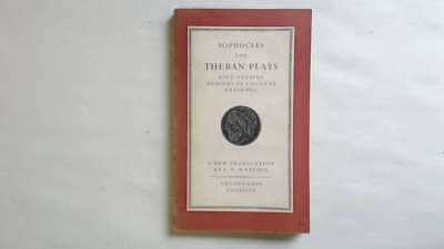 Good - Sophocles: The Theban Plays: King Oedipus; Oedipus at Colonus; Antigone -