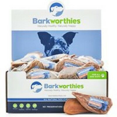 100 count Barkworthies CHICKEN JERKY Dog Treats SOFT Chews USA Natural FRESH