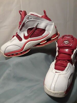 78495bdaeffb ... best nike shox flights system red white size mens 10.5 good condition  c3373 66553