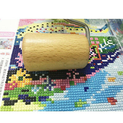 Wooden Roller Tools 5D Diamond Painting Craft for DIY Kit Rhinestone Tackle LG
