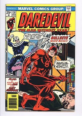 Daredevil #131 Vol 1 Almost PERFECT High Grade 1st Appearance of Bullseye