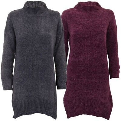 9ce9178f3 Ladies Chenille Jumper Brave Soul Womens Sweater Knitted JAIME Crew Neck  Winter