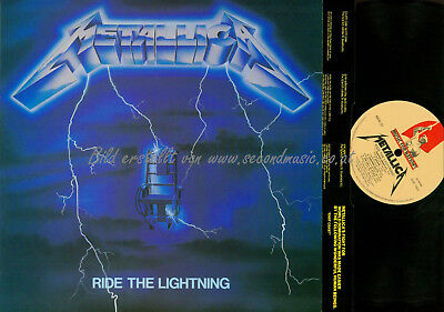 LP- Metallica ‎– Ride The Lightning  // OIS // MFN27 //NM // + INSERT // UK