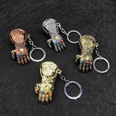 Avengers Infinity War Thanos Infinity Gauntlet Alloy Key Chains Keychain Keyring