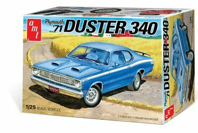 1971 Plymouth Duster 340 1/25 scale skill 2 AMT model kit#1118
