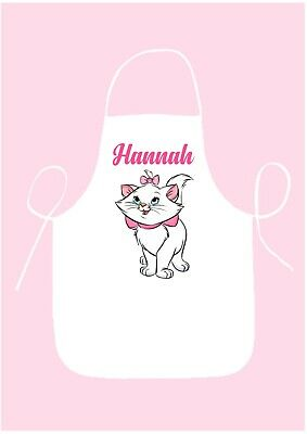 PERSONALISED APRON*COOKING*BAKING*ADULTS//CHILD/'S//KIDS GIFT*TEAL GLITTER UNICORN