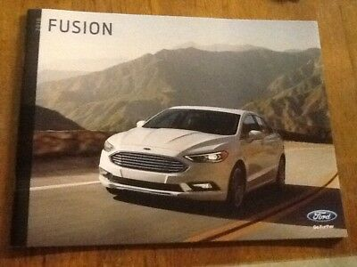 2018 Ford Fusion Brochure New