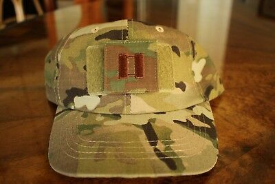 Usaf Us Air Force Multicam Ocp I/a O-3 Camouflage Combat Ballcap Ball Cap Hat