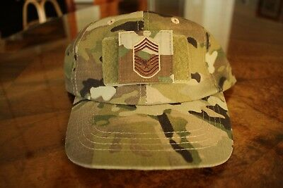 Usaf Us Air Force Multicam Ocp I/a E-9 Camouflage Combat Ballcap Ball Cap Hat