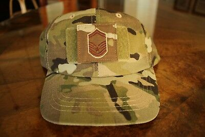 Usaf Us Air Force Multicam Ocp I/a E-8 Camouflage Combat Ballcap Ball Cap Hat