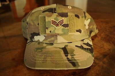 Usaf Us Air Force Multicam Ocp I/a E-4 Camouflage Combat Ballcap Ball Cap Hat
