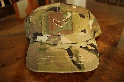 Usaf Us Air Force Multicam Ocp I/a E-3 Camouflage Combat Ballcap Ball Cap Hat
