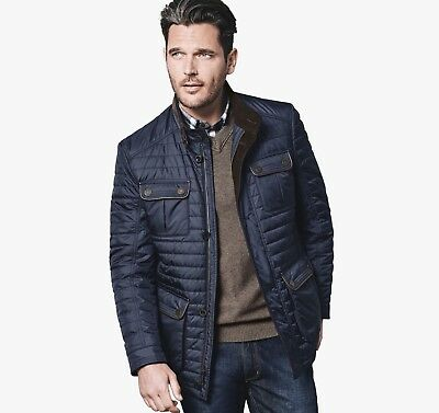 Johnston & Murphy Quilted Four Pocket Jacket