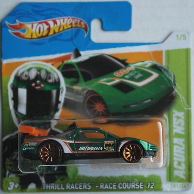 Hot Wheels Acura NSX grünmetallic Thrill Racers Neu/OVP Sportwagen Auto Car HW