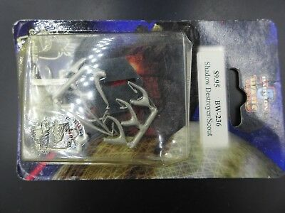 Shadow Destroyer/Scout MIB - Babylon 5 Wars A Call to Arms FT17