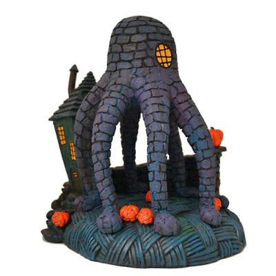 Nightmare Before Christmas Houses.Rare Hawthorne Village Nightmare Before Christmas Octopus