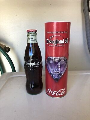 2015 Coca-Cola Disneyland 60th Anniversary Bottle with Sleeve