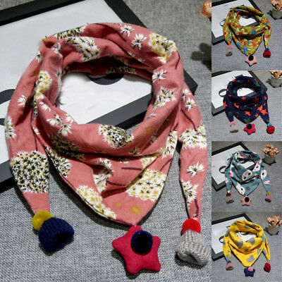 Infant Scarves Neck Wraps Scarf Baby Boy Girls Toddler Kid Shawl Neckerchief KV
