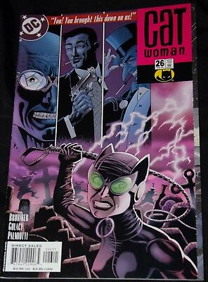 Catwoman vol. 3 #26 8.5 VF+ 2nd series Paul Gulacy cover