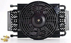 JEGS 60345 High Performance Transmission Cooler