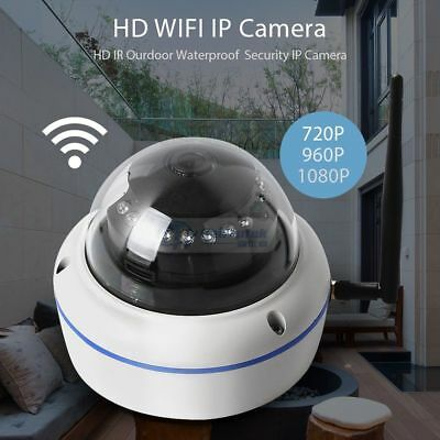 720p/960P/1080P Wireless Dome Security Camera Smart Home Outdoor SD Night Vision