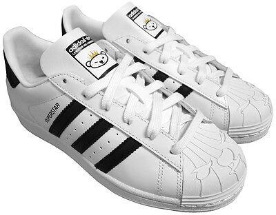 size 40 6eb80 3e700 Adidas Originals Superstar Nigo Bearfoot S83387 Baskets Chaussures Homme  Neuf