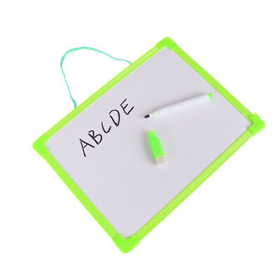 Kid Whiteboard Writing Board Drawing Tablet Teaching Learning WordPad with Pen D