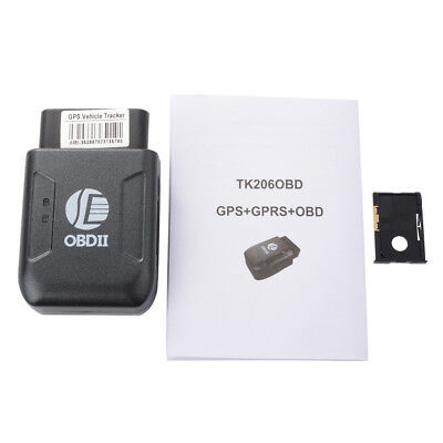 OBD II GPS Realtime Tracker Car Vehicle Locator Tracking Device GSM GPRS AH209