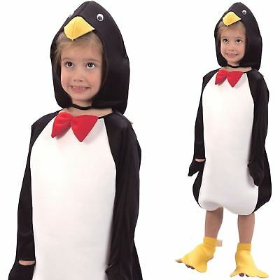 Child Toddler Penguin Costume Boys Girls Animal Fancy Dress Outfit