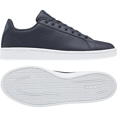 finest selection 3b18a a5f54 adidas Cloudfoam Advantage CL Dark Blue B43674 Casual Trainers Size UK  8.5-10.5