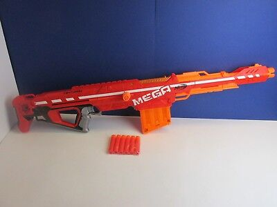 big NERF MEGA CENTURION GUN darts toy N STRIKE ELITE inc ammo 60W