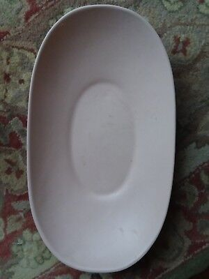 VINTAGE MID CENTURY MODERN Pink Hyalyn Decorative Pottery LARGE Bowl USA