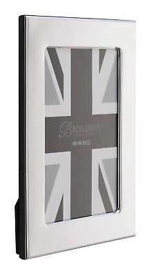 """NEW Sterling Silver - MAYFAIR Photo / Picture Frame - 7"""" x 5"""""""