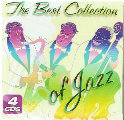 The Best Collection Of Jazz CD NEW Great Hits 4 Disc SET With 60 Songs !