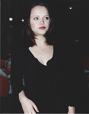 Christina Ricci 8 X 10 Photo With Ultra Pro Toploader