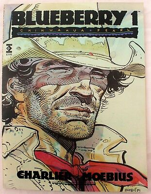 Lieutenant Blueberry 1 a  nr m 1989 Titan/Epic English Language GN 1ST print