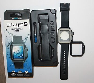 DEFECTIVE Catalyst Case for Apple Watch 42mm Series 1 - Black : FOR PARTS